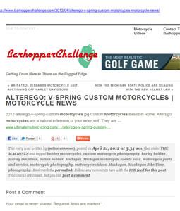 Barhopper Challenge